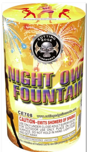 CE708 Night Owl Fountain 40/1