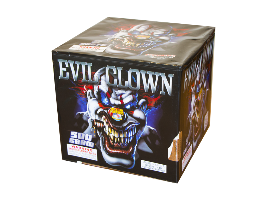 KM30018-27 Evil Clown 6/1